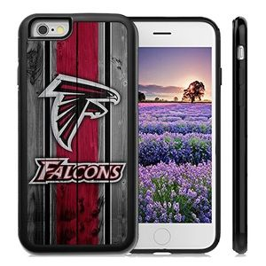 Atlanta Falcons iPhone X 8 plus 7 6S 6 5S SE cover